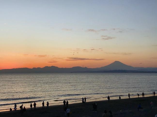 Sunset photo of Mt. Fuji